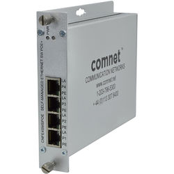 COMNET 4-Port Ethernet Self-Managed Switch with PoE (328')