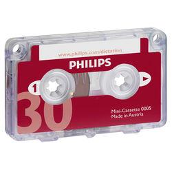 Philips 30-Minute Mini Cassette Tape