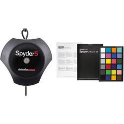 Datacolor Spyder5ELITE Display Calibration System Bundle with SpyderCHECKR 24