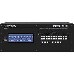 Shinybow 16x16 HDMI & HDBaseT 4K2K CAT5e/6/7 Matrix Routing Switch