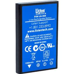 Listen Technologies LA-365 Replacement Rechargeable Li-ion Battery