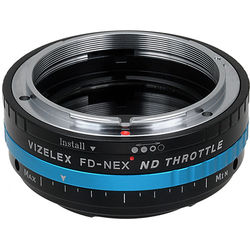 FotodioX Vizelex Pro ND Throttle Lens Mount Adapter for Canon FD-Mount Lens to Sony E-Mount Camera