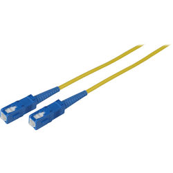 Camplex Singlemode Simplex SC to SC Fiber Optic Patch Cable (98', Yellow)