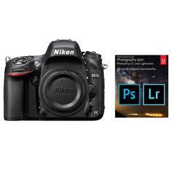 Nikon Nikon D610 DSLR Camera Body with Adobe Creative Cloud 12-Month Subscription Kit
