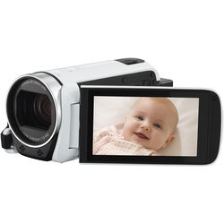 Canon LEGRIA HF R606 Full HD Camcorder (PAL, White)