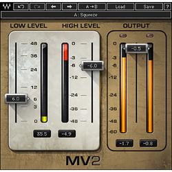 Waves MV2 - Compressor Plug-In (Native/SoundGrid, Download)