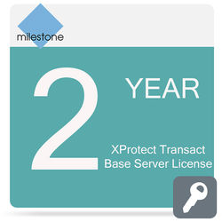 Milestone Care Premium for XProtect Transact Base Server License Software (2-Years)