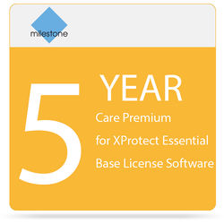 Milestone Care Premium for XProtect Express Base License Software (5-Years)