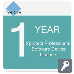 Milestone Care Premium for XProtect Professional Device License Software (1 Year)