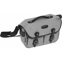 Billingham Hadley ProShoulder Bag (Gray Canvas & Black Leather)