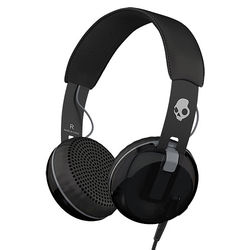 Skullcandy Grind Headphones with Single-Button TapTech and Mic (Black)