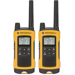 Motorola T400 2-Way Radio (Yellow, 2-Pack)