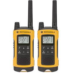 Motorola T400 2-Way Radio (Yellow, 2-Pack)