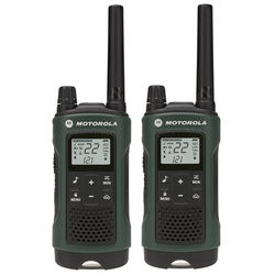 Motorola T465 2-Way Radio (Green, 2-Pack)