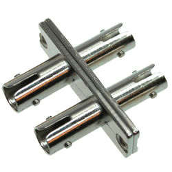 Tactical Fiber Systems ST Inline Cable Coupler - 2 Fibers