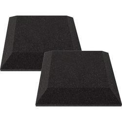 """Ultimate Acoustics 12 x 12 x 2"""" Bevel Acoustic Panels (Pair)"""