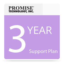 Promise Technology 24/7 Phone Support Plan for Vess A2000 Series NVR Appliance with Drives (3-Year)