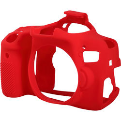 easyCover Silicone Protection Cover for Canon 750D/T6i (Red)