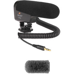 Polsen Polsen VM-150 DSLR/Video Microphone & Custom Windbuster Kit