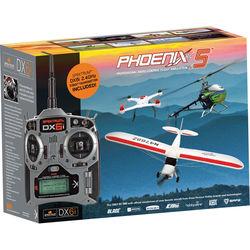 Phoenix R/C Pro Simulator V5.0 with DX4e Transmitter
