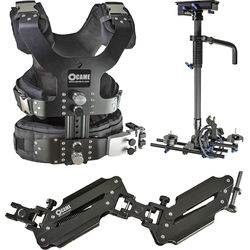 CAME-TV Pro Camera Carbon Stabilizer with Support Vest & Support Arm