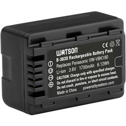 Watson VW-VBK180 Lithium-Ion Battery Pack (3.6V, 1700mAh)