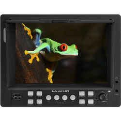 "MustHD M601S 5.6"" On-Camera Field Monitor with 3G-SDI & HDMI Input/Output"