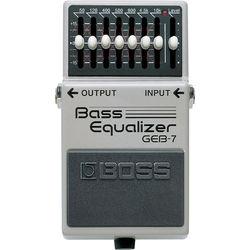 BOSS GEB-7 Bass Equalizer Pedal