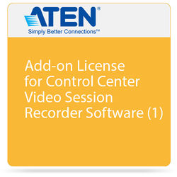 ATEN Add-on License for Control Center Video Session Recorder Software (1)