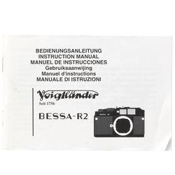 Voigtlander Bessa-R Instruction Book
