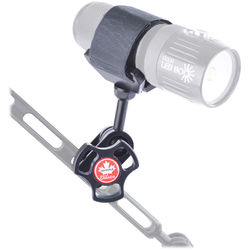 Aquatica Delta 3 Light Saddle Adapter with Ball Mount and Side Clamp for Lighting Arm