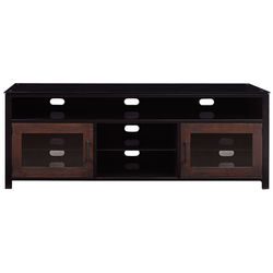 Bell'O BEDFORD A/V Wood Cabinet (Cocoa)