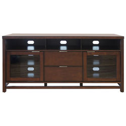 Bell'O SCARBOROUGH A/V Wood Cabinet (Chocolate)