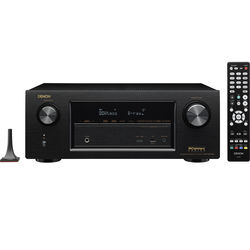 Denon IN-Command Series AVR-X3200W 7.2-Channel Network AV Receiver (Black)