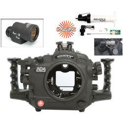 Aquatica AD4 Underwater Housing for Nikon D4 with Aqua VF and Vacuum Check System (Dual Nikonos Strobe Connectors)