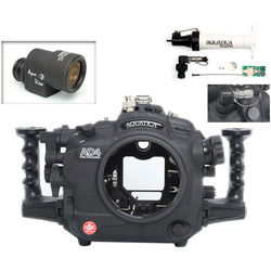 Aquatica AD4 Underwater Housing for Nikon D4 with Aqua VF and Vacuum Check System (Ikelite TTL Strobe Connector)