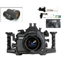 Aquatica AD300s Underwater Housing for Nikon D300s with Aqua VF and Vacuum Check System (Dual Nikonos Strobe Connectors)