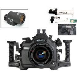 Aquatica AD300s Underwater Housing for Nikon D300s with Aqua VF and Vacuum Check System (Dual Nikonos Strobe Connectors)