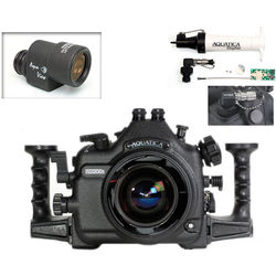 Aquatica AD300s Underwater Housing for Nikon D300s with Aqua VF and Vacuum Check System (Dual Optical Strobe Connectors)