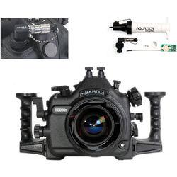 Aquatica AD300s Underwater Housing for Nikon D300s with Vacuum Check System (Dual Nikonos Strobe Connectors)