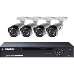 Lorex by FLIR 8-Channel 1080p DVR with 1TB HDD and 4 1080p Bullet Cameras