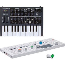 Teenage Engineering OP-1 and Arturia MicroBrute Synthesizer Bundle