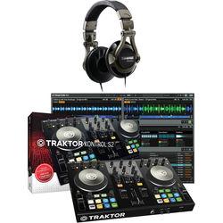 Native Instruments TRAKTOR KONTROL S2-MK2 Kit with DJ Headphones