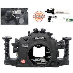 Aquatica AD7100/200 Underwater Housing for Nikon D7100 or D7200 Vacuum Check System (Dual Optical Strobe Connectors)