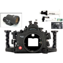 Aquatica AD810 Pro Underwater Housing for Nikon D810 with Aqua VF and Vacuum Check System (Optical and Nikonos Strobe Connectors)