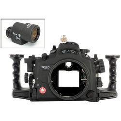 Aquatica AD810 Pro Underwater Housing for Nikon D810 with Aqua VF (Ikelite TTL/Manual Strobe Connector)