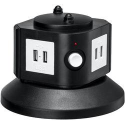 Yubi Power 8-Port USB Charging Power Tower