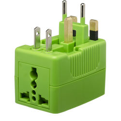 Yubi Power Travel Plug Adapter (Green)