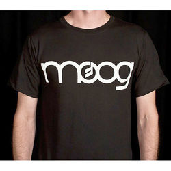 Moog Classic Black Logo T-Shirt (Medium)