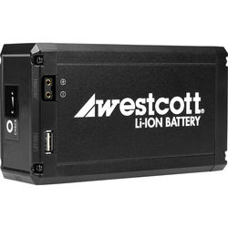 Westcott Portable Li-Ion Battery for Flex LED Mat (14.8V, 10.4Ah)